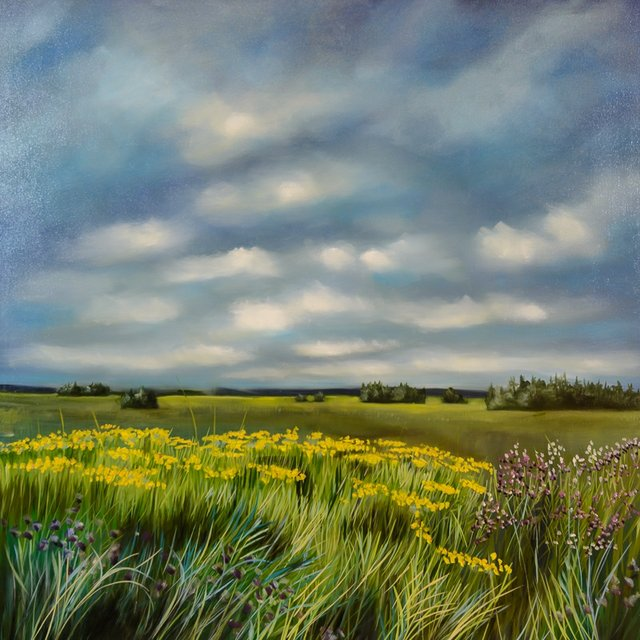 "Richard Cole, ""Wild Flowers,"" nd"
