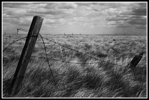 "Robert S. Michiel, ""Gathering Prairie Storm,"" nd"