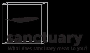 Boxed Sanctuary logo