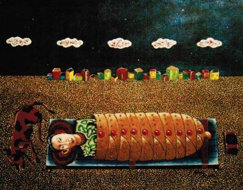 "F. Spina, ""The Big Sleep - Outside Gjoa Haven,"" nd"