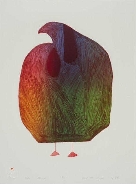 """Sheojuk Etidlooie, """"Mitiq (Eider Duck),"""" 1997"""