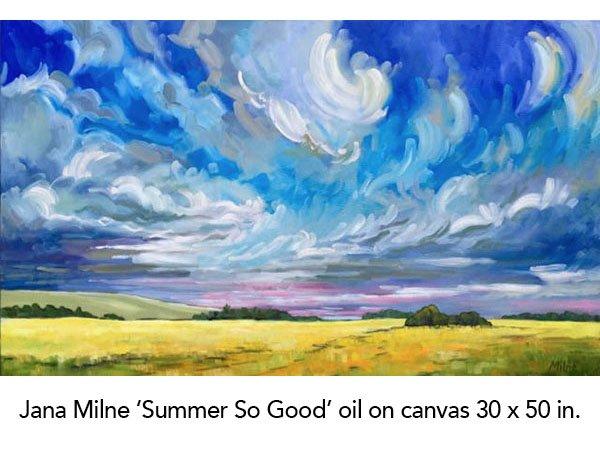 "Jana Milne, ""Summer So Good,"" nd"