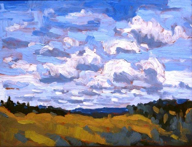 "Art Whitehead, ""Sky,"" 1989"