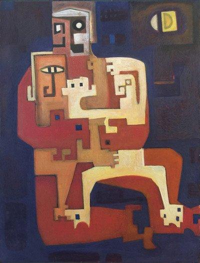 """H.G. Glyde, """"FAMILY PORTRAIT,"""" C. 1963"""