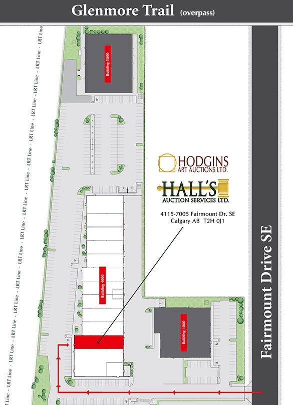 Hodgins location map