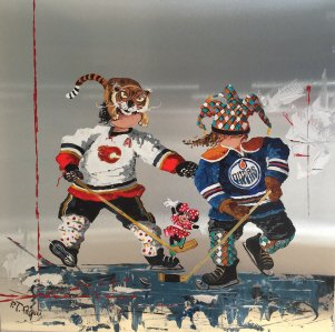 "Pauline Paquin, ""Hockey,"" nd"