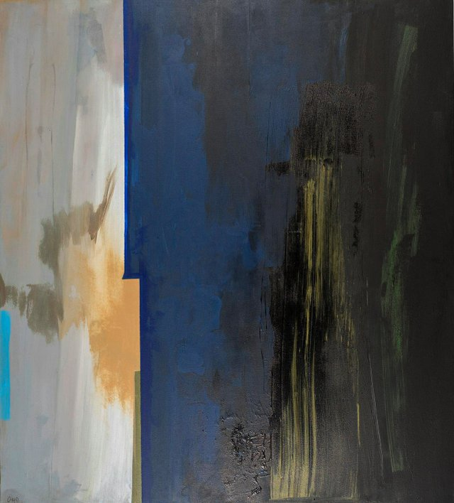 """Otto Rogers, """"Blue Storm,"""" 2016"""