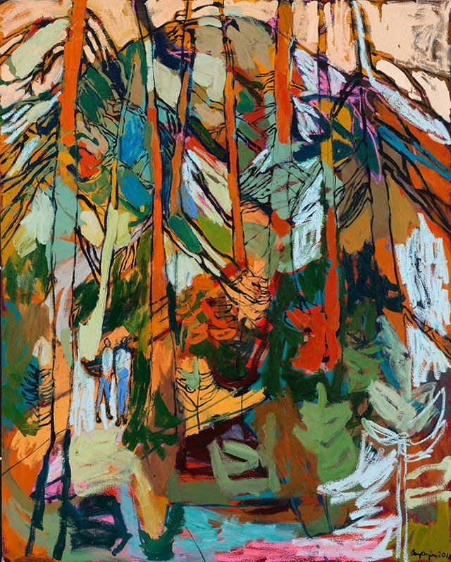 """Amy Dryer, """"Of the Mountain,"""" 2016"""