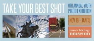 Take Your Best Shot: Youth Photo Exhibiton