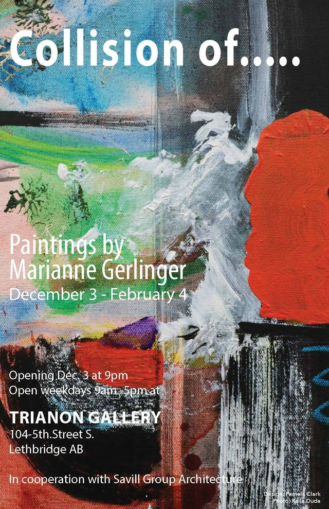 "Marianne Gerlinger, ""Collision of.... ,"" 2016"