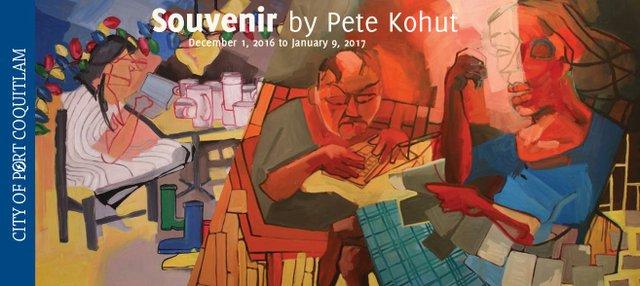 """Pete Kohut, """"Souvenirs"""" nd"""