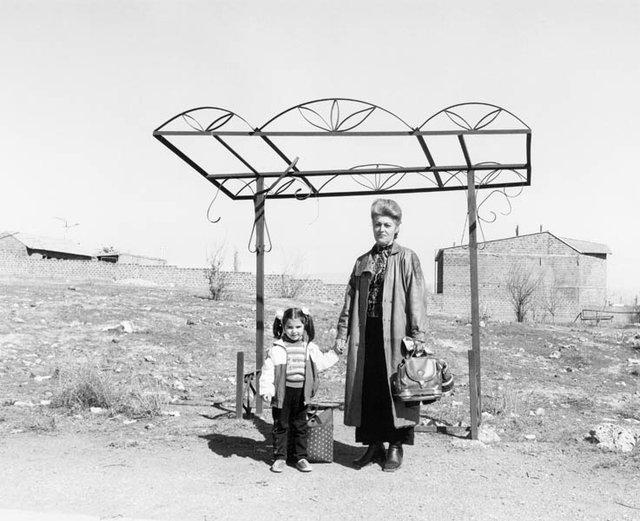 "Ursula Schulz-Dornburg, ""BUS STOPS. ARMENIA. 2004. EREVAN-PARAKAR,"" 2004"