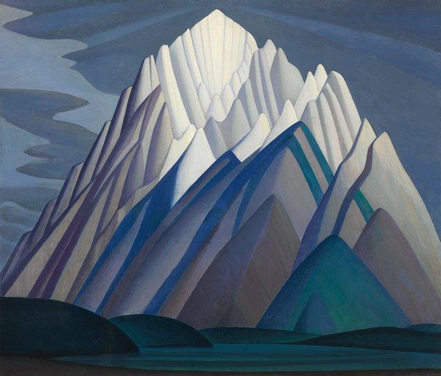 """Lawren Harris, """"Mountain Forms,"""" circa 1926"""