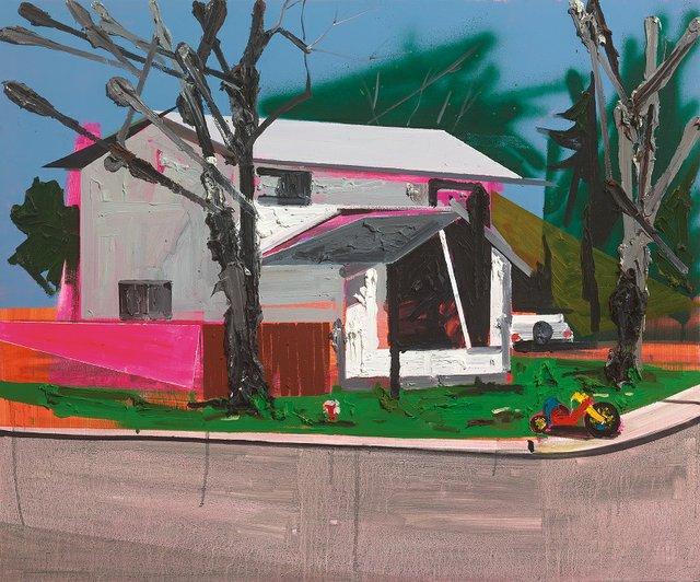 "Kim Dorland, ""Big Wheel,"" 2007"