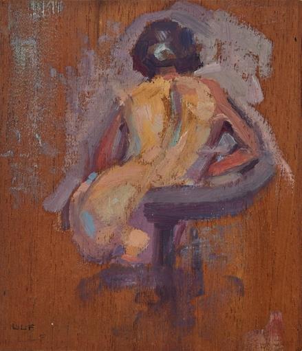 """L.L. Fitzgerald, """"Nude Study,"""" nd"""