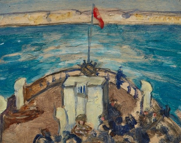 """J.W. Morrice, """"The Crossing,"""" nd"""