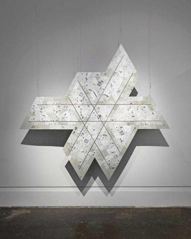 """Wally Dion, """"Icosahedron,"""" 2016"""