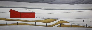 "Linda Lindemann, ""More Snow Coming - Ardrossan,"" nd"