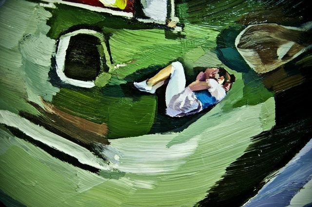 "Allyson Glenn, ""Caught in the Tailings Pond,"" 2014"