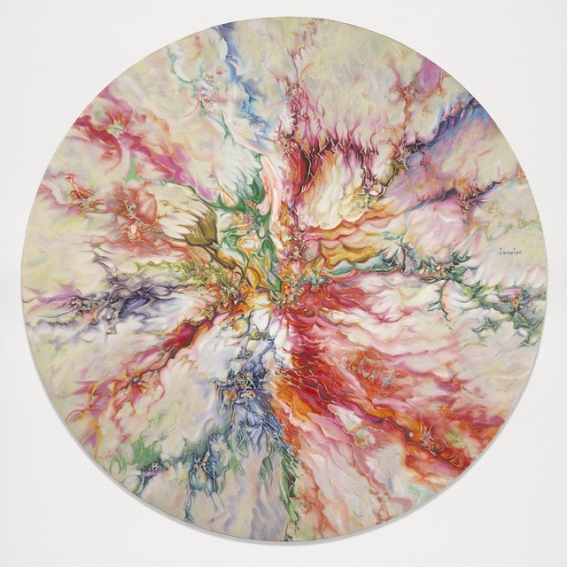 Alex Janvier's Triumph - Galleries West | 640 x 640 jpeg 88kB