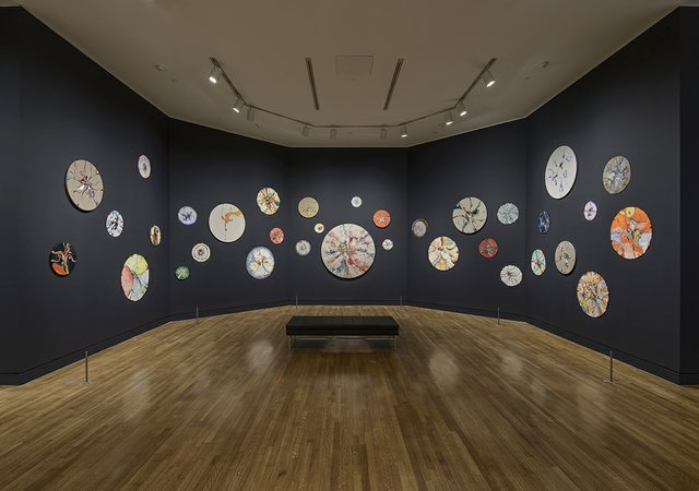 Installation view: Alex Janvier exhibition