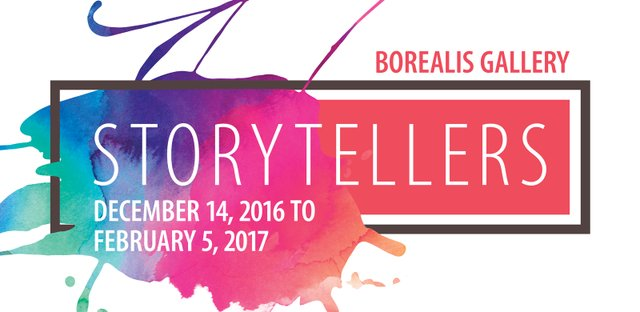 Storytellers at Borealis Gallery