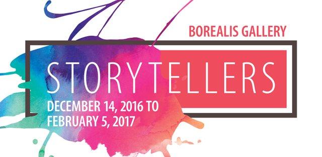 Storytellers at Borealis Gallery