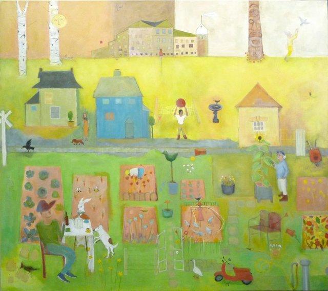 "Marie H. Becker, ""Kitsilano Community Garden,"" nd"