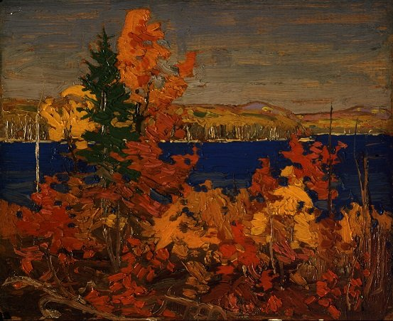 "Tom Thomson, ""Autumn Foliage,"" c. 1899–1917"