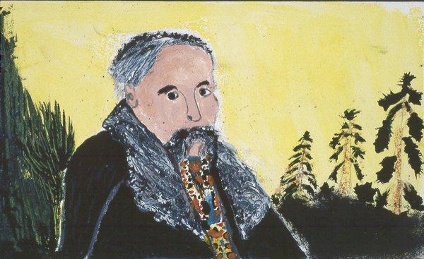 """Dmytro Stryjek, """"Taras Schevchenko, Ukrainian Poet,"""" 1981"""