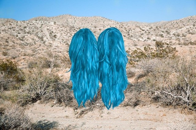 "Talia Shipman, ""Meet Me In The Middle (Wigs),"" 2016"