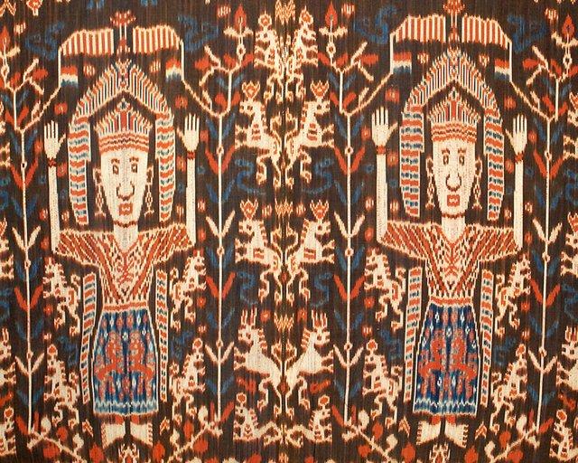Indonesia: ceremonial cloth