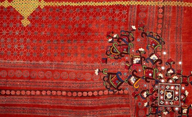 Pakistan: groom's wedding shawl