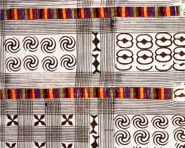 Ghana: adinkra cloth