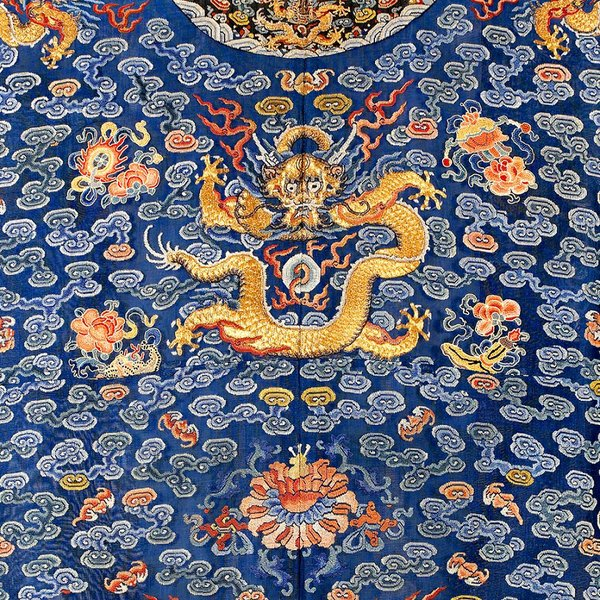 China: imperial dragon robe