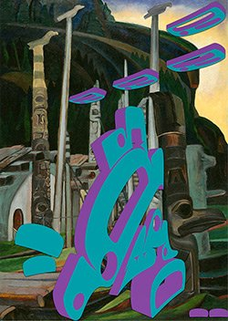 "Sonny Assu, ""Spaced Invaders,"" 2014"