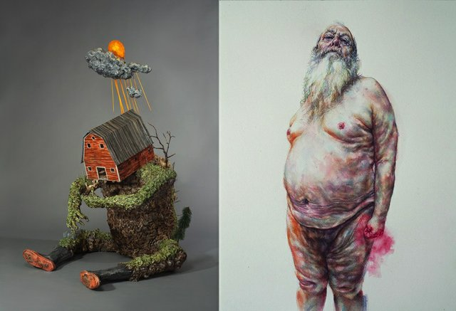 """Jude Griebel and Tammy Salzl, """"Unfamiliar Selves,"""" nd"""