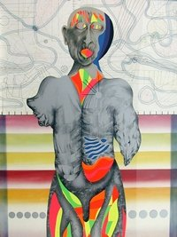"Claude Breeze, ""Genetic Problem Prototype: Torso #2,"" 1989"