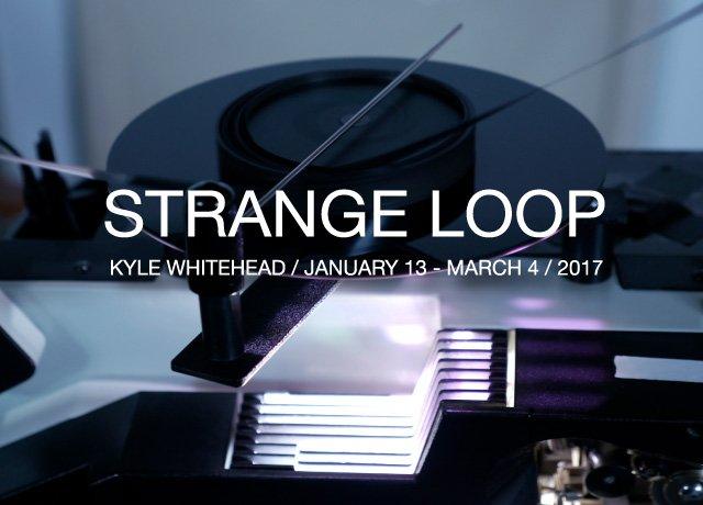 """Kyle Whitehead, """"Strange Loop,"""" nd"""