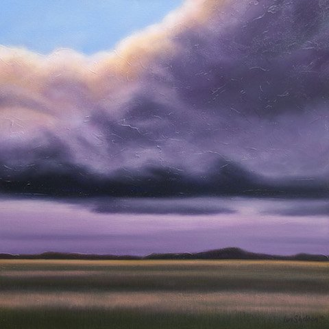 "Ian Sheldon, ""Evening Cloud Spirit,"" 2016"