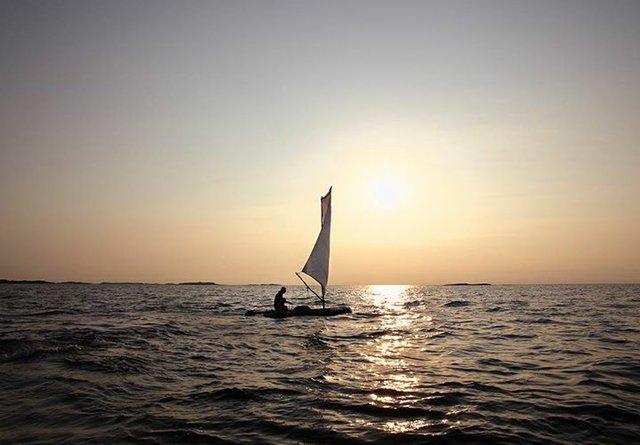 """Antti Laitinen, """"Bark Boat,"""" 2010"""