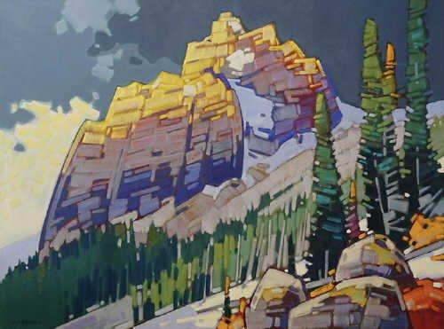 """Cameron Bird, """"Tonquin Gold - Jasper Park Showpiece,"""" nd"""