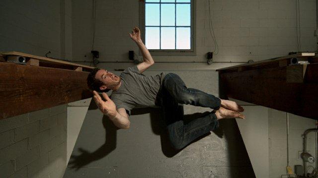 "Scott Billings, ""A Risky Jump,"" 2015"