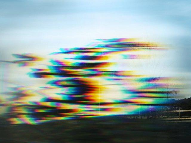 "Annie Briard,""Paracosm O (spectral gaze),"" 2017"