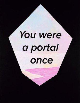 "Rebecca Chaperon, ""A Portal Once,"" 2016"