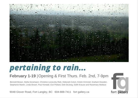 Pertaining to Rain Invite