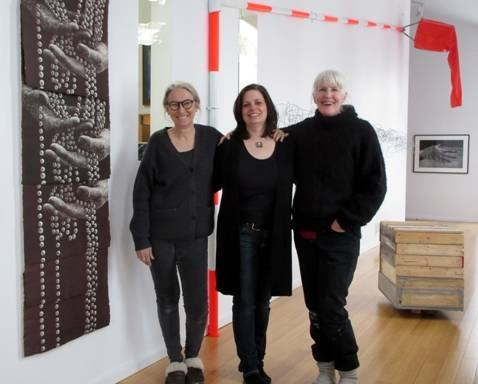 Brenda Feist, Laura Widmer and Nora Curiston