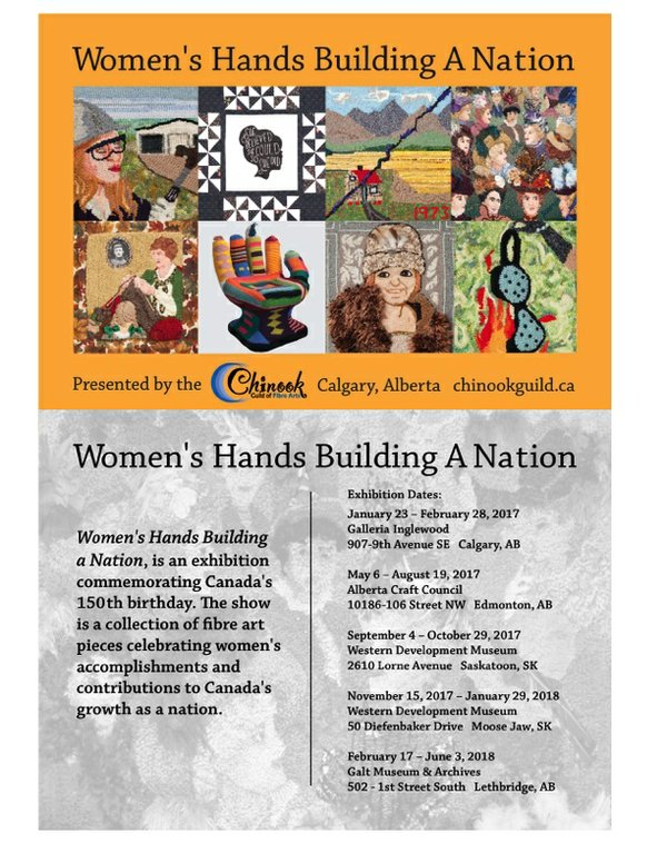 Women's Hands Building a Nation