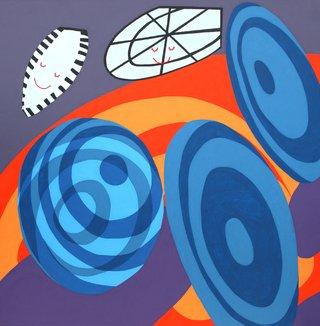 """Sandra Meigs, """"Room for Mystics, No. 9,"""" 2016"""