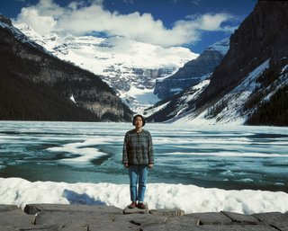 "Jin-me Yoon, ""Souvenirs of the Self (Lake Louise), 1991,"" printed 1996"